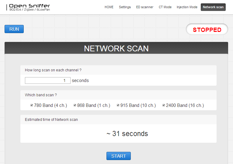 opensniffer_networkscan
