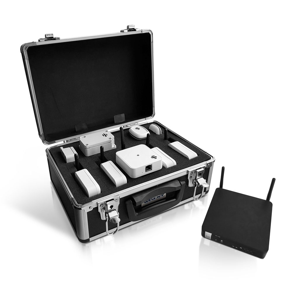 Indoor Tracking RTLS UWB Wi-Fi Kit