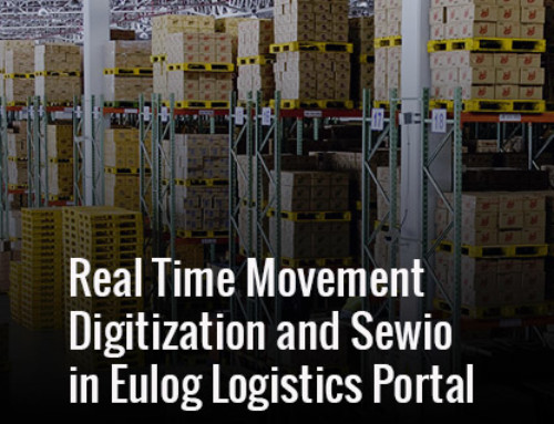Real Time Movement Digitization and Sewio in Eulog Logistics Portal