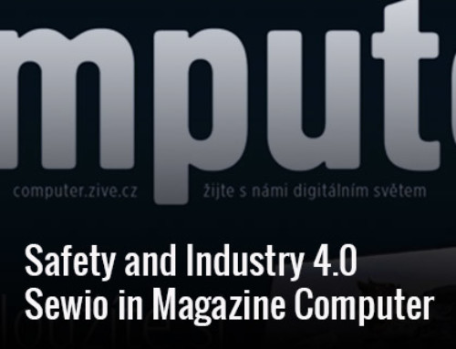 Sewio in Computer – Specialized Magazine for IT Profesionals
