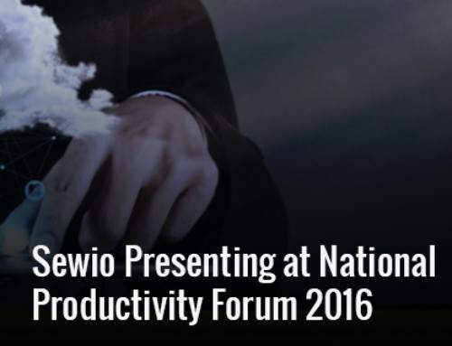 Sewio Presenting at National Productivity Forum 2016
