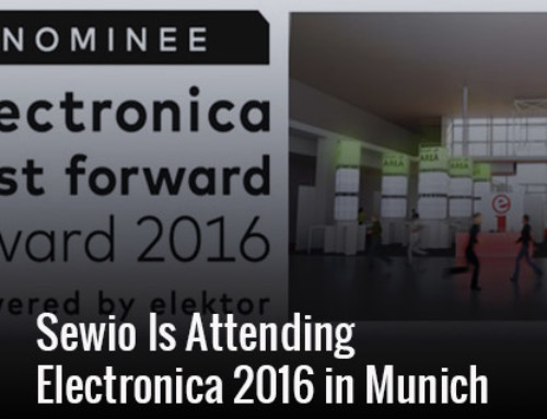 Sewio Is Attending Electronica 2016 in Munich