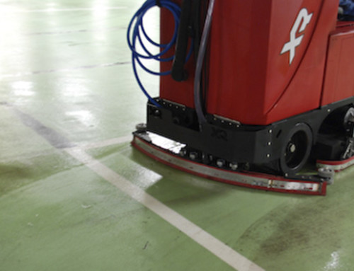 Automatic Control of Floor Scrubbers