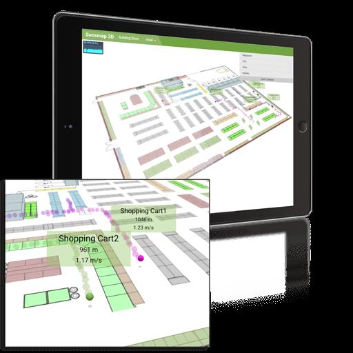 3D Sensmap Visualization